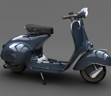 Vespa Turn-around